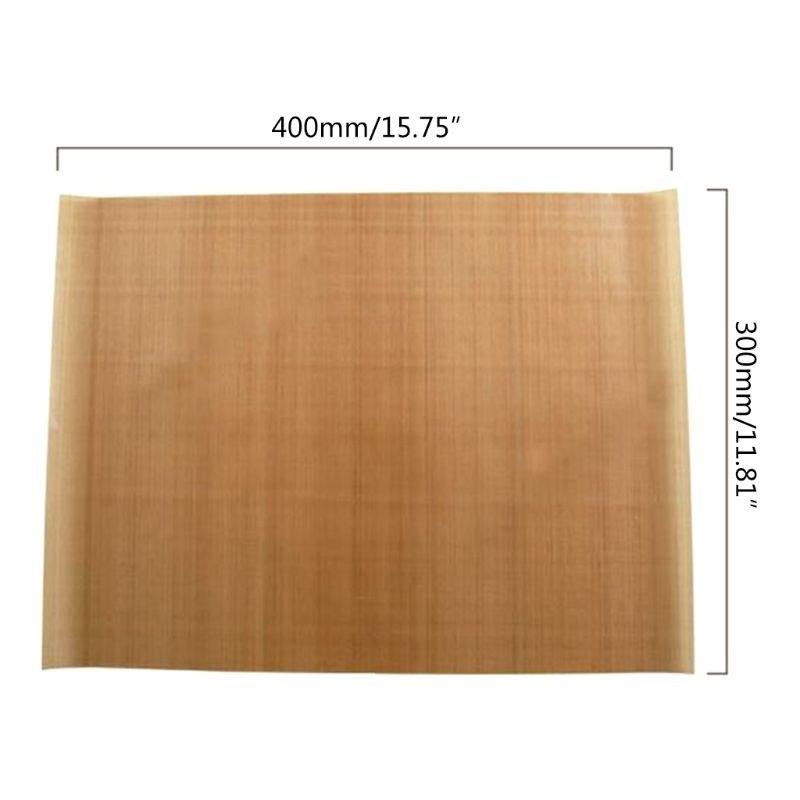 5pcs Reusable Baking Mat Non Stick Sheet Heat Resistant BBQ Grill Cake G8TC