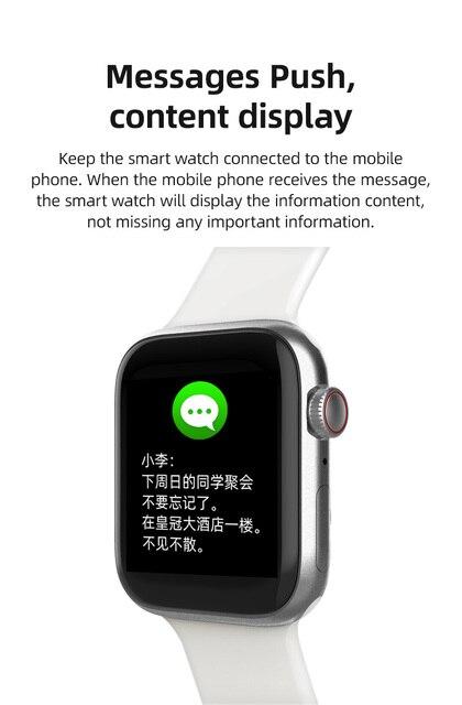 Smart Watch T900 Bluetooth Call Music Heart Rate Sports Smartwatch 44MM 4