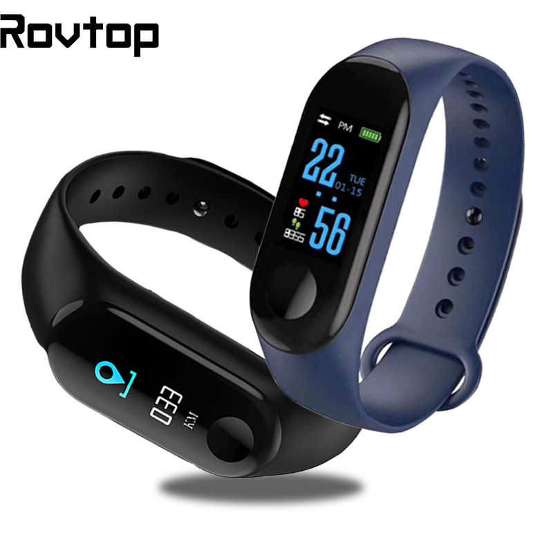 M3Pro Smart Watch Sport Smart Band Tekanan Darah Monitor Smart Gelang Smartwatch Gelang M3Plus Gelang untuk Pria Wanita