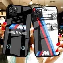 Custodia in vetro temperato per telefono BMW Caja Del Para di qualità superiore per Iphone6plus 6S 7 7plus 8 X XS XSmax XR 11 12 Pro Max 12mini