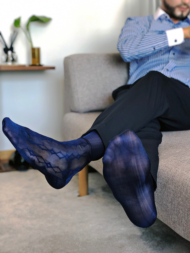 Tube Socks Men's Stocking Business Dress Stocks Sheer Socks Exotic Formal Wear Sheer Sock Sexy Male Socks Transparent TNT Socks