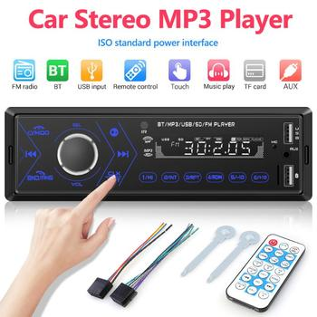 VODOOL 3205 Single 1 DIN Car Stereo MP3 Player 1din Bluetooth Autoradio Radio In-Dash Head Unit USB/TF/AUX-IN Multimedia Player image