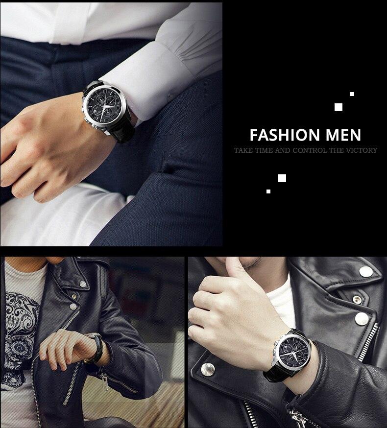 Moda relógio mecânico masculino marca de luxo