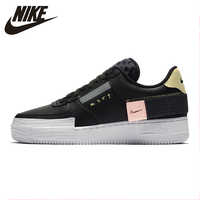 Nike 19 Autumn Men AF1 Air Force Casual Skateboarding Shoes Non-slip Sports Comfortable Outdoor Sneakers #CI0054 -001