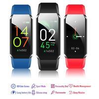 T3 braccialetto di misurazione della temperatura di 3 generazioni braccialetto intelligente di salute promemoria informazioni di chiamata braccialetto musicale per IOS/Android