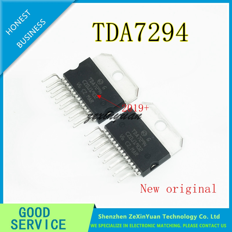 1PCS   TDA7294V TDA7294 TDA 7294 AUDIO AMPLIFIER ZIP-15  New Original