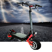 Electric Scooters Adult Folding E Scooter 11 Inch Max Speed 100km/H Lithium Battery 72V 20AH 400W Double Motor Drive цена и фото