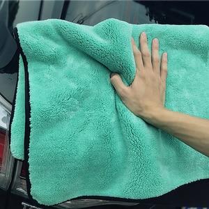 Image 5 - Car Wash Cleaning Soft Microfiber Towel Car Detailing Microfiber Rag for Car Polish Thick Plush Drying Absorption Car Care Cloth