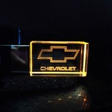 Usb-Flash-Drive Logo Custom Chevrolet Crystal Usb2.0 Metal 16GB 8GB Gift 4GB 32GB 64GB