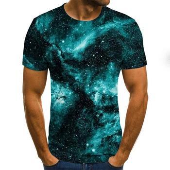 2020 3D Funny T Shirt Men Clothing Psychedelic Print Casual Short Sleeve T Shirt Mens Streetwear t shirt men недорого