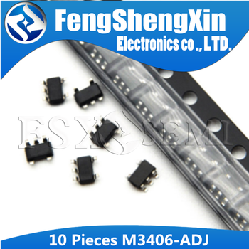 10pcs M3406-ADJ SOT23-5 M3406 SOT153 A14/A15/A16/A17 supply buck chip image