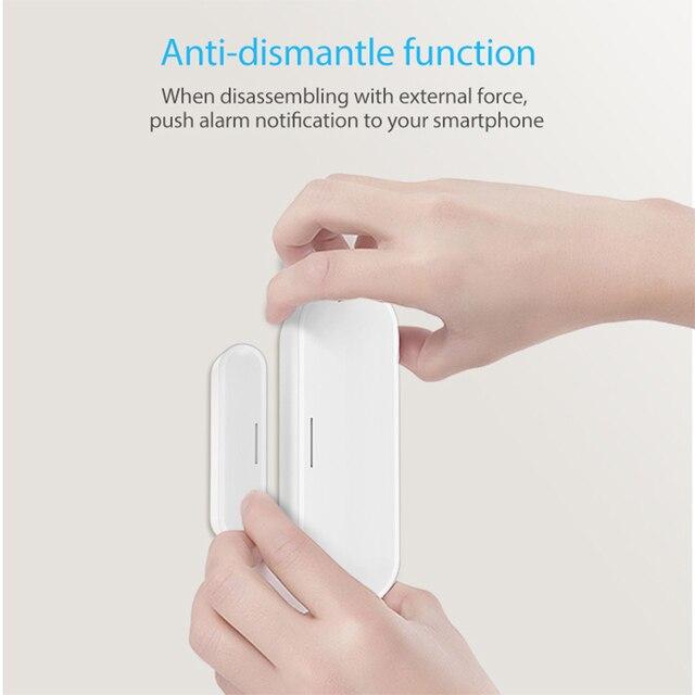 Sensor de ventana de puerta NEO Coolcam Z Wave Plus, alarma de seguridad, serie 700, carga de batería con USB, 868,4 MHZ, nuevo 6