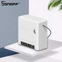 SONOFF Mini DIY Two Way Smart Switch Wifi Automation Switches Voice Remote Control Work With Ewelink Alexa WiFi Smart Switch