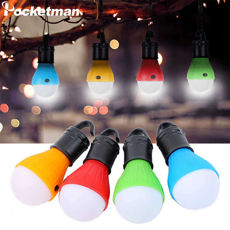 Mini Tragbare Notfall Camping Zelt Weiches Licht Im Freien Hängen SOS 3 LED Laterne Lampe Angeln Laterne Wandern Energiesparlampe