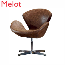 Nordic Dining Chairs Originality Designer Sofa Chair Modern Dining Chairs Synthetic Leather Makeup Chair Cadeira Sillas Comedor