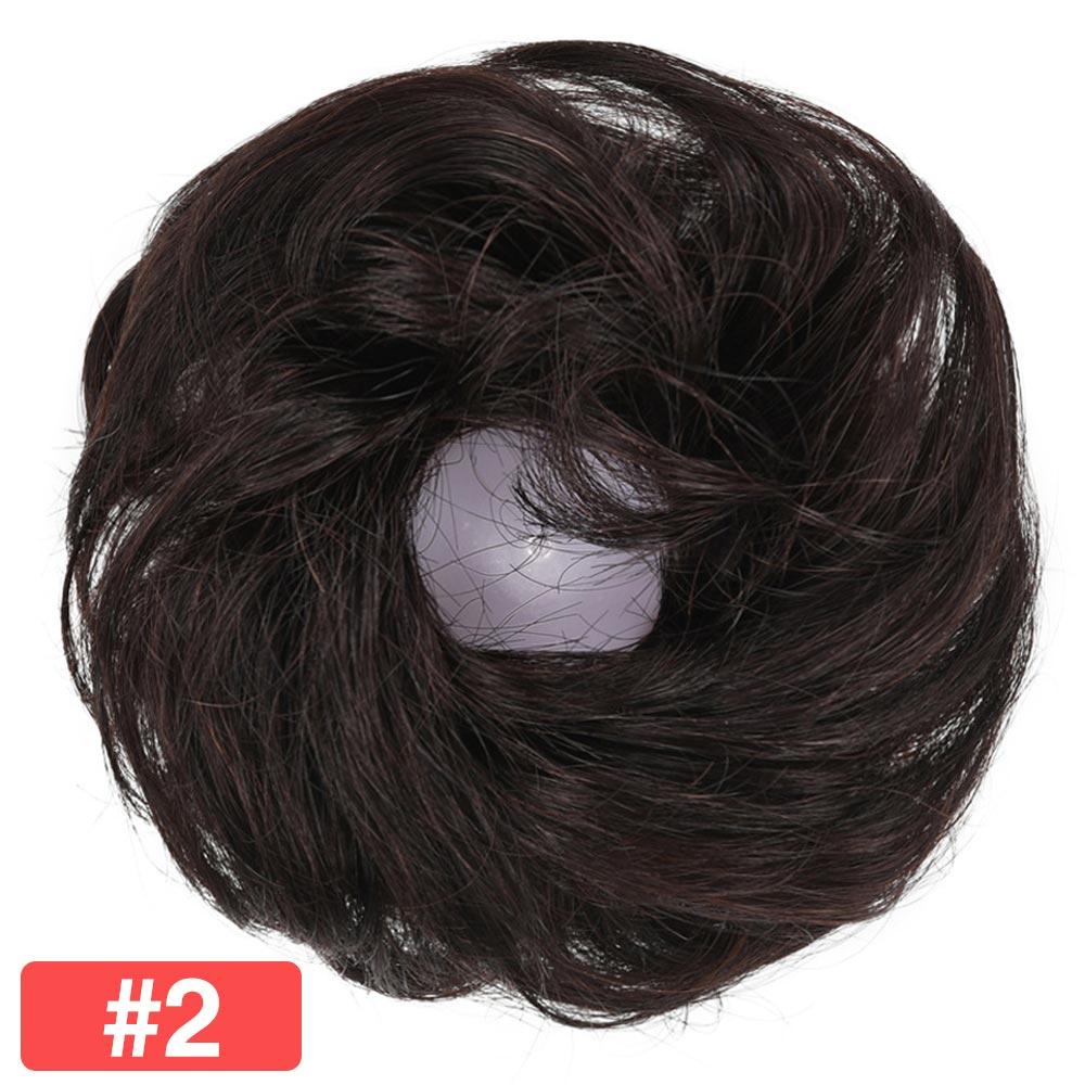Extensão de cabelo 100% humano, peça de