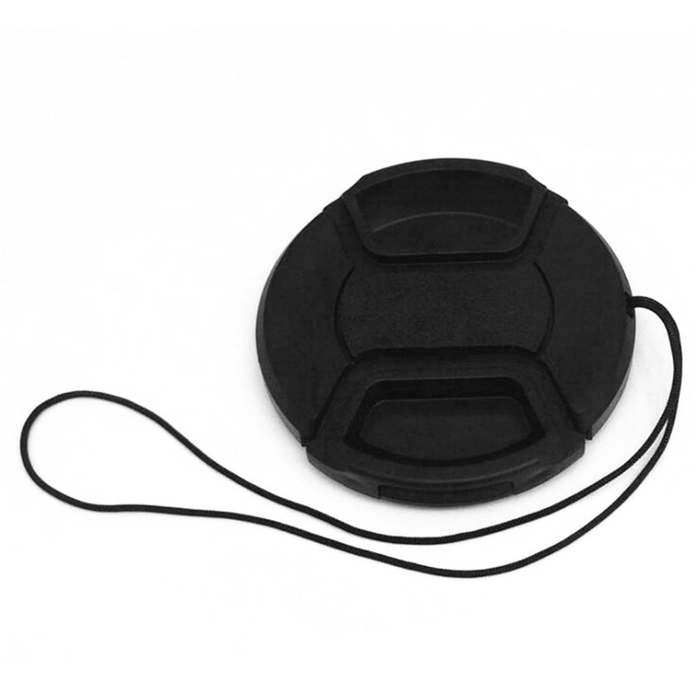 Professional Protective Lens Cap For Canon/Nikon/Pentax/Sony ABS Dust-proof Camera Lens Protector Cover With Anti-lost Rope