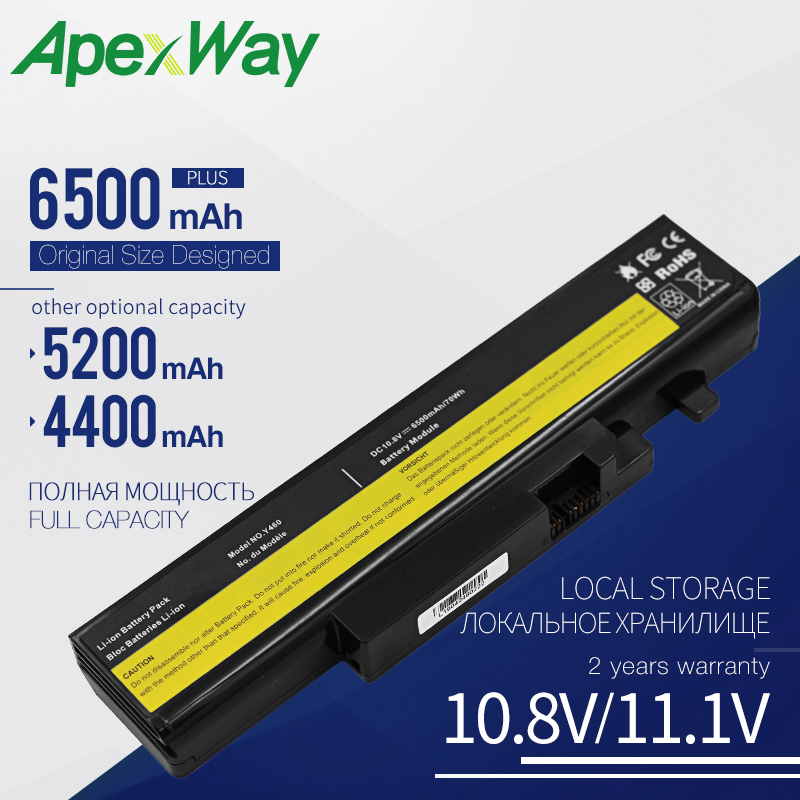 10.8V Laptop Battery For LENOVO B560 Y460 V560 Y560 Series B560A Y460A Y460G Y460N Y560A Y560G 57Y6567 57Y6568 57Y6440 L09N6D16