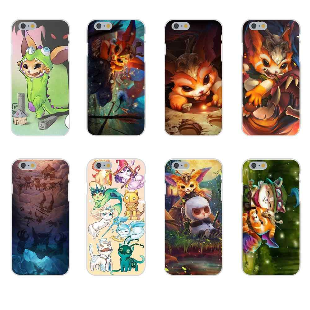 Gnar League Of Legends Para Huawei P7 P8 P9 P10 P20 P30 Mini Lite Plus Pro Y9 P Prime Inteligente Z 2018 2019 TPU Design Personalizado