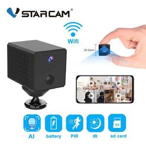 Vstarcam 1080P Мини Wifi камера AI гуманоидное Обнаружение 1500 мАч перезаряжаемая батарея ip-камера PIR Обнаружение низкое энергопотребление