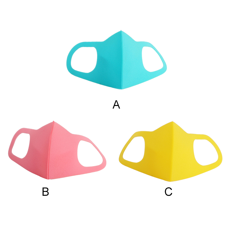 Face Masks For Kids Anti PM2.5 Dustproof Smoke Pollution Mouse Mask with Earloop Washable Respirator Children Face Masks 2
