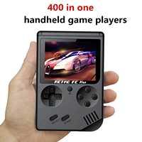GameBoy MINI portátil Retro Handheld 8 Bit 168 juegos 400 Game Boy niños nostálgico jugadores videoconsola para niños nostálgico