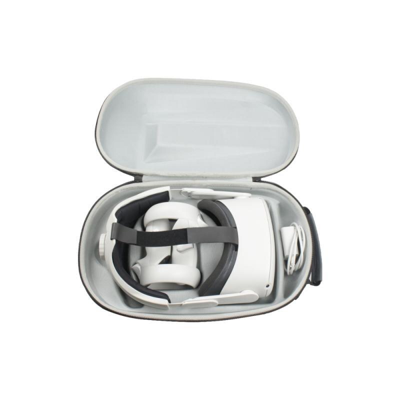 Para oculus quest 2 óculos de armazenamento à prova de choque e saco de armazenamento impermeável vr/ar óculos vr/ar óculos acessórios