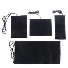 1/4PCS 5V Carbon Fiber Heating Pad Hand Warmer USB Heating Film Electric Winter Infrared