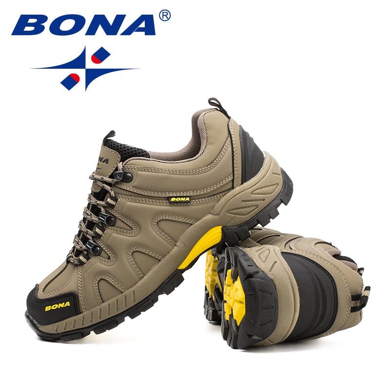 BONA — Chaussures de randonnée à lacets pour hommes, baskets de style classique pour le sport, le jogging en plein air et le trekking, nouvelle collection, livraison rapide et gratuite 6
