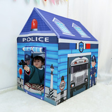 Children's Toy Tents Kids Indoor Outdoor Convenient Tent Fire Truck Police Bus Children Foldable Toy Playhouse Gifts