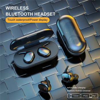 Y30 TWS Wireless Headphones Bluetooth Touch Control Sport Headset Waterproof Microphone Music Earphones Works On All Smartphones 6