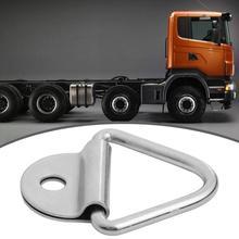 1433lbs связать вниз кольцо крепления+ обманка якорь для грузовика трейлер ван лодка лошадиная коробка тяга сила 650 кг Размер продукта 78*65*11 мм