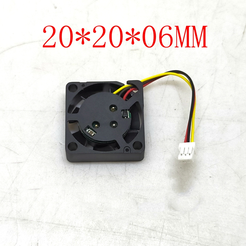 NEW 2006 5v 12v 2CM 20MM Fan 20*20*6MM Cooling Fan  Ultrathin Fan Mini Laptop Fan 3wire