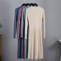 Трикотажное платье с узором Цена 1478 руб. ($18.30) | 290 заказов Посмотреть