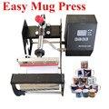 Новое поступление легкий 11 унций кружка термопресс машина сублимационный принтер теплопередача кружка печатная машина