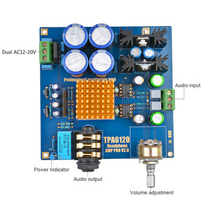 Image 2 - AIYIMA TPA6120A2 Hi Fi Headphone Amplifier Board Athens Imperial Enthusiast Fever Audio Amplifiers Earphone Amp