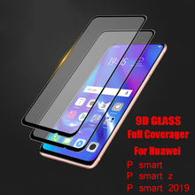 9D Full Cover Tempered glass For Huawei P smart 2019 p z Glass screen protector huawei Protective