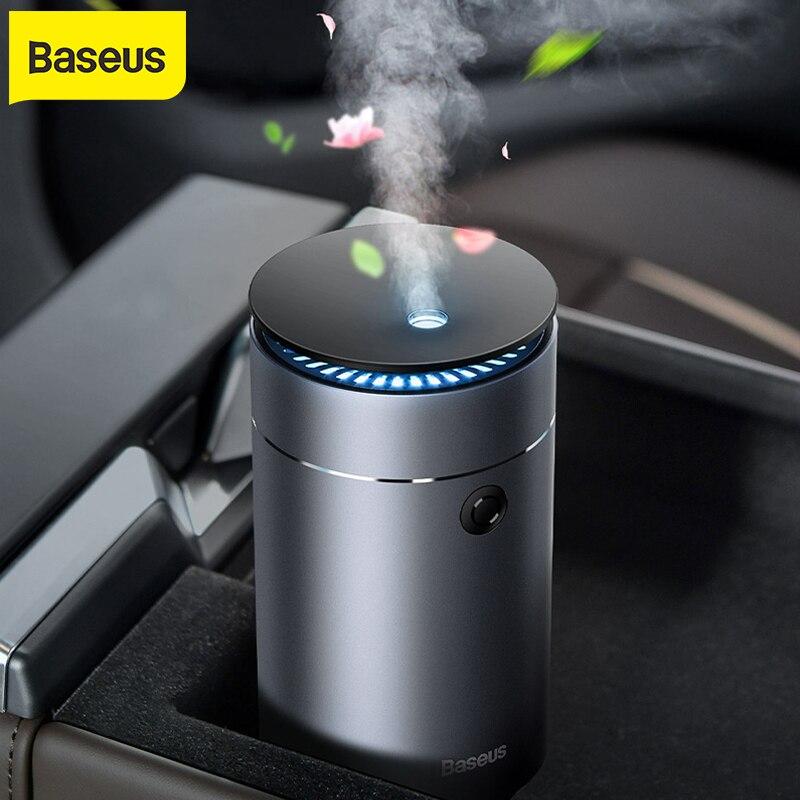 Baseus Car Air humidifier Car Aromatherapy Diffuser Car Purifier Air Freshener for Home Car Essential Oil Aroma Diffuser USB