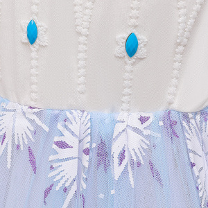 Image 5 - Nieuwe Meisjes Voor Cartoon Movie Kostuum Princess Snow Queen Dressing Up Met Cape Voor Meisje Carnaval Fancy Party Dress Kids jurken