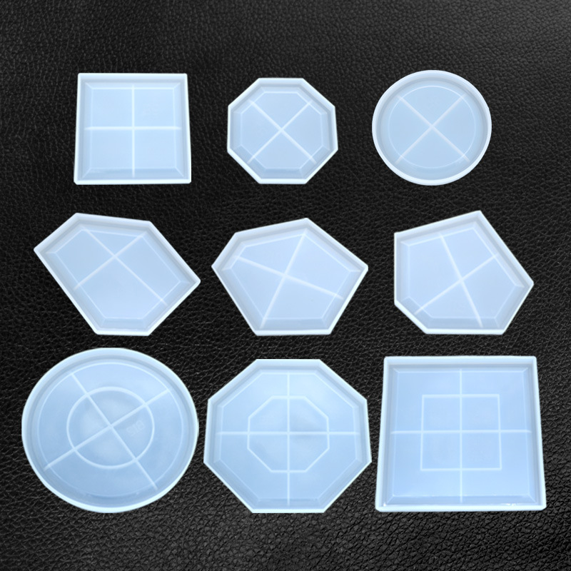 Large Irregular Petri Dish Plate Mold Epoxy Resin Crafts Make Your Own Resin Tray Crafts Personalised DIY Fluid Art Resin Mold