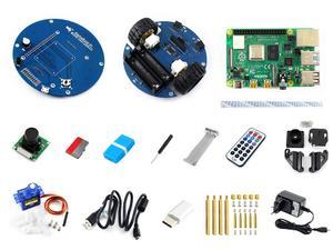 Image 5 - Robot Inteligente de Vídeo inalámbrico AlphaBot2, alimentado por Raspberry Pi 4 Modelo B enchufe de alimentación de EE. UU./UE