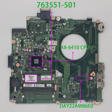 763551-501 763551-001 UMA w A8-6410 CPU für HP PAVILION 14-V Serie 14Z-V000 NoteBook PC Laptop Motherboard mainboard