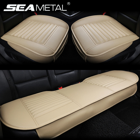 Leather Car Seat Covers Universal Seat-Cover Four Seasons Cushion Sets Automobiles Interior Seat Mat Covers Auto Accessories Pakistan