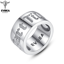 EVBEA Matte Finish Nordic Rune Rings for Men Viking Punk Gothic Style Rock Roll Wedding/Commitment Band (Till Death Do Us Part) cypress hill cypress hill till death do us part