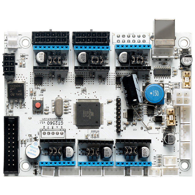 Motherboard GT2560 V3.1 Control Board For A10 A10M A20M Geeetech 3d Printer