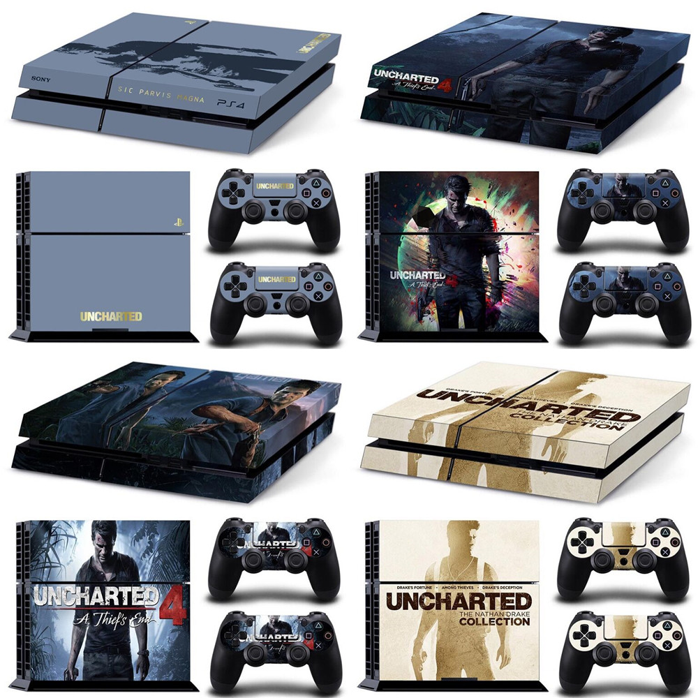 Vinyl Uncharted 4 A Thief S End Decal Skin Stickers For