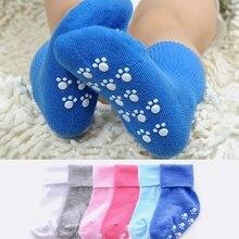 Novel Baby Cotton Christmas Socks Kids Color Candy Anti-skid Socks Soft Infant Socks Gift0-3Years Hose Summer Leg Warmer Neutral все цены