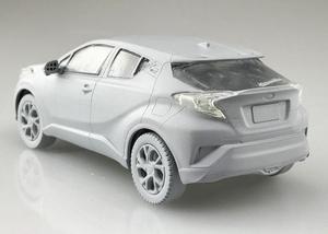 Image 5 - Модель сборки 1/32 Toyota CHR SUV, внедорожный автомобиль 05634