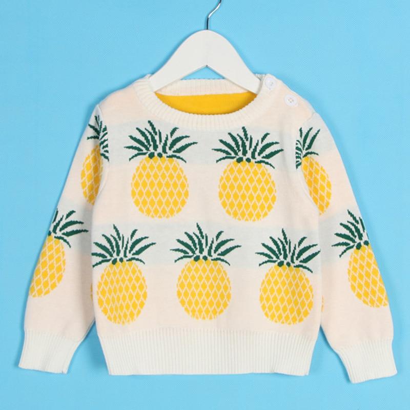 1-6Yrs New 2020 Boy Girl Long Sleeve Loving Heart Knitted Sweater Autumn Winter Boys Girls Sweaters For Baby Girls Kids Sweater 13