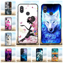 For Xiaomi Mi 8 Explorer Case Thin Soft TPU Silicone Cover Animal Patterned Capa